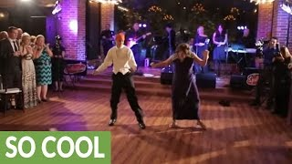 Mother and son have breakout wedding dance