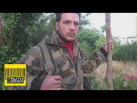 I ate the heart of a Syrian - Abu Sakkar speaks - Truthloader