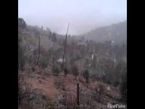 Snowfall Oddi,himachal pradesh,india