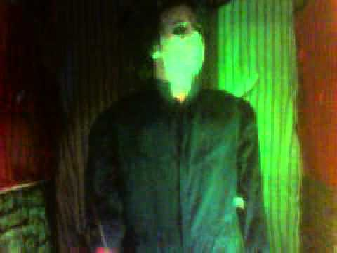 Michael Myers in Halloween store