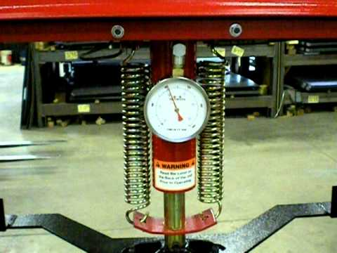 20-Ton Air-Over Hydraulic Press