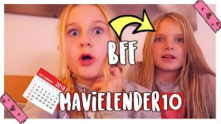Shopping & BFF Sleepover Vlogmas 2018 | MaVie Noelle