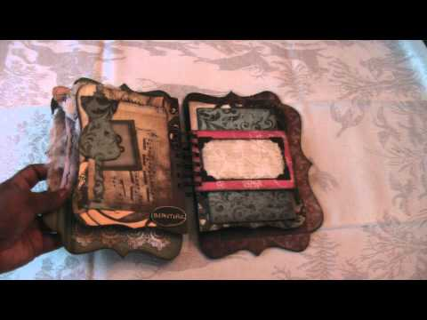 Scrapbooking Vintage Tattered Time Mini Album