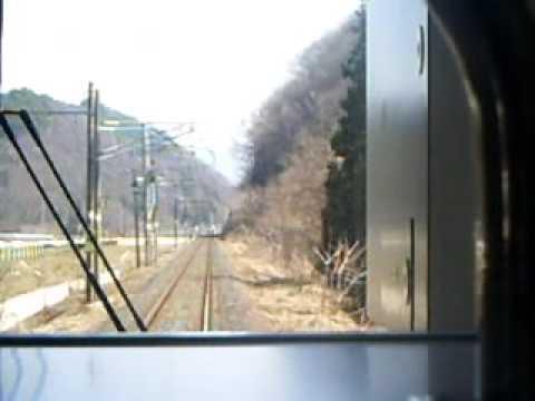 奥羽本線 中川→かみのやま温泉 前面展望