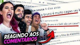 REAGINDO AOS MELHORES (E PIORES) COMENTÁRIOS DO FINAL LEVEL!