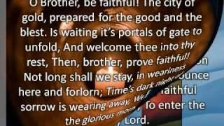 O Brother Be Faithfulwmv
