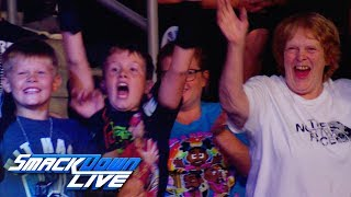 """Dance Break"" time in Sioux Falls, S.D.: SmackDown Exclusive, Aug. 20, 2019"