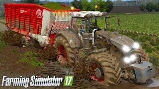 Farming Simulator 17 - REALISTIC MUD & FENDT VARIO 1000!