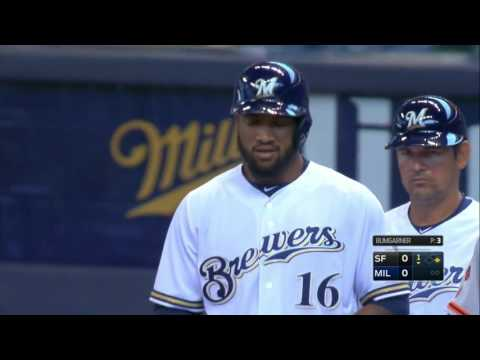 Brewers vs. Giants 04.04.2016 [Full Game HD]