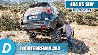 Todoterrenos 4x4: diferencias entre un SUV y un todoterreno auténtico   Diariomotor