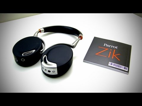 Parrot Zik Unboxing (Parrot Zik Wireless Headphones)