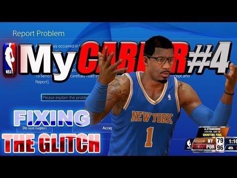 NBA 2K14 PS4 MyCareer - HOW TO FIX The MyCAREER CRASH GLITCH