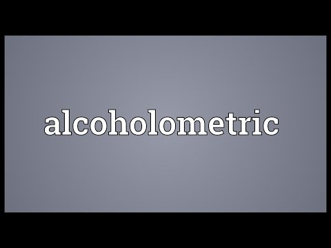 Header of alcoholometric