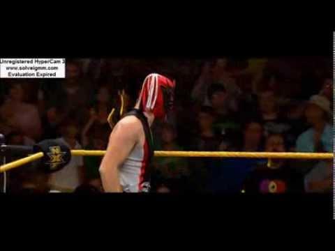 El Generico (MASKED) Debuts on NXT!!!!!!