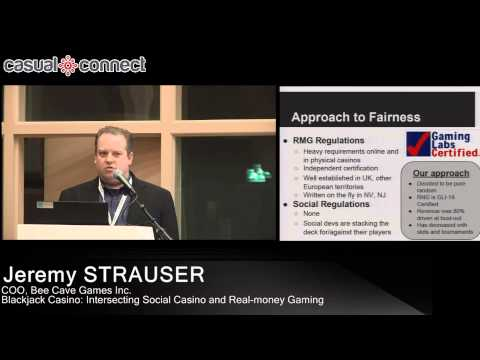 Blackjack Casino: Intersecting Social Casino and Real-money Gaming | Jeremy STRAUSER