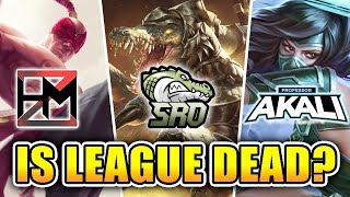IS LEAGUE OF LEGENDS DYING?   ft. SoloRenektonOnly and Professor Akali - LEAGUE PODCAST #1