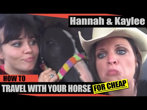 HANNAH & KAYLEE-HOW TO TRAVEL WITH YOUR HORSE FOR CHEAP!!