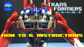 Optimus Prime Weaponizer de Transformers Prime Video de Juguetes en Español