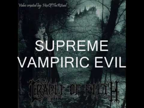 Cradle Of Filth - Funeral In Carpathia