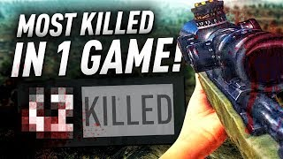 MY MOST KILLS IN ONE GAME - BATTLEGROUNDS - (PUBG)