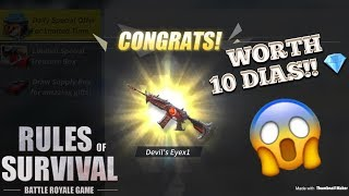 Download Song PULLING THE DEVIL'S EYE M4A1 FOR 10 DIAMONDS ONLY! - Rules of Survival (Tagalog) Free StafaMp3