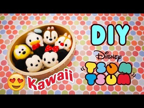 How to make Tsum Tsum Tutorial - Needle Felting DIY Disney