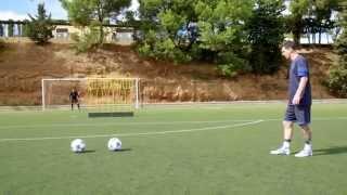 Lionel Messi Amazing Freekick Goal in Training | HD