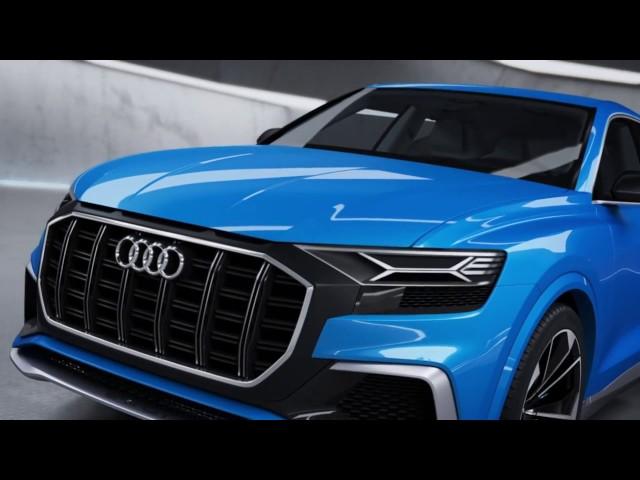 Audi Q8 concept Animation