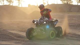 CAN-AM RENEGADE 1000 XXC  ATV QUAD Riding Movie FullHD