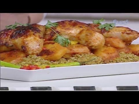 خرشوف بالخضروات وكرات اللحم- صينيه بطاطس باوراك الدجاج  #غفران_كيالي #هيك_نطبخ