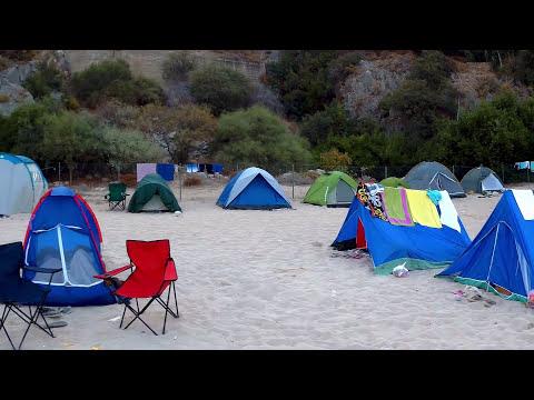 Ölüdeniz'de kamp yaptık fethiye, muğla youtube