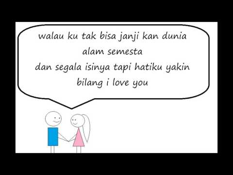 download lagu Bilang I Love You Lirik(Souljah) gratis