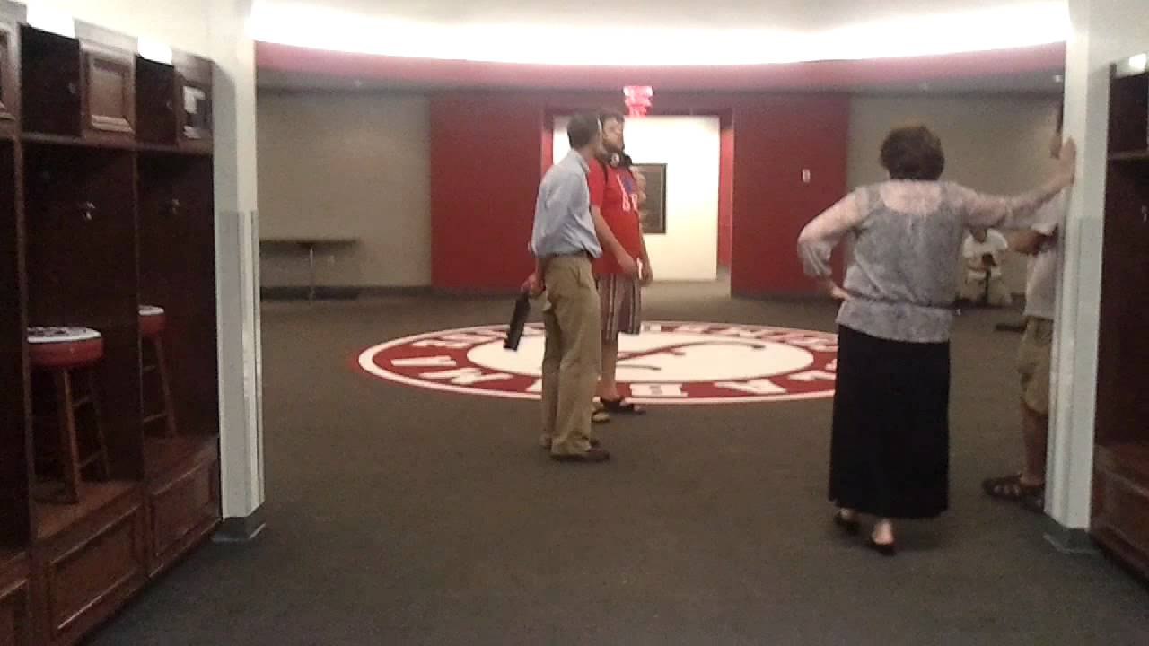 Alabama Crimson Tide Locker Room Youtube