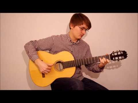The Hobbit - Misty Mountains Cold Acoustic Guitar Cover (with TABs)