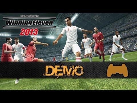 Winning Eleven / PES 2013 Demo - Portugal vs England [PS3]