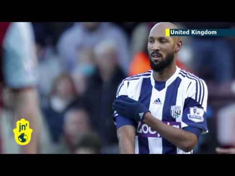 Footballer Nicolas Anelka gives anti-Semitic salute: French minister condemns 'quenelle' salute