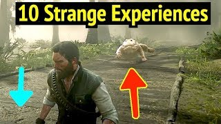 10 Strange Experiences in Red Dead Redemption 2 (RDR2): Bull Alligator and Phonograph