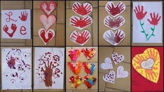 9 VALENTINE'S DAY CRAFTS FOR TODDLERS & KIDS!