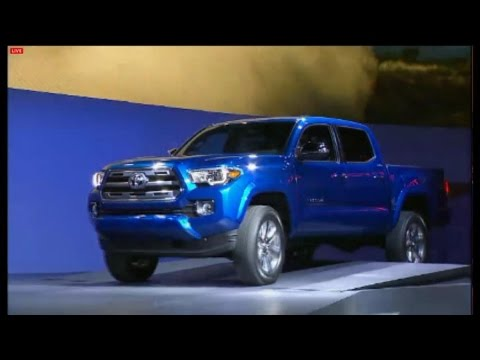 Toyota Unveils 2016 Tacoma Pick-Up at Detroit Auto Show