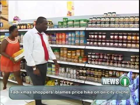 Viasat1 News Takoradi residents complain of high Xmas prices