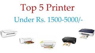 Best Printers in India under 5000