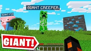 MINECRAFT BUT IT'S GIANT..