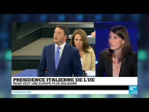 Économie : Matteo Renzi veut une Europe plus solidaire