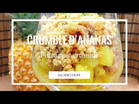 Crumble d'ananas | Cuizinelokal