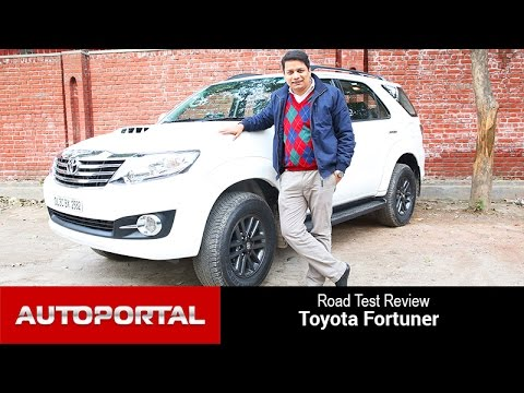 Toyota Fortuner Test Drive Review - Autoportal