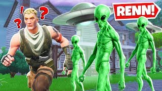 Fortnite: EVIL ALIEN UFO SLIDE Parkour!