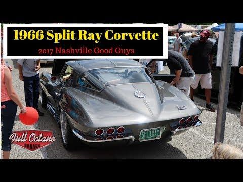 1966 Split Ray Corvette at the 2017 Good Guys Nashville