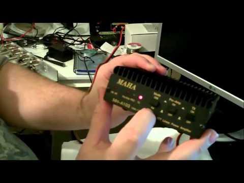 Hooking Up  2 Meter Amplifier thumbnail