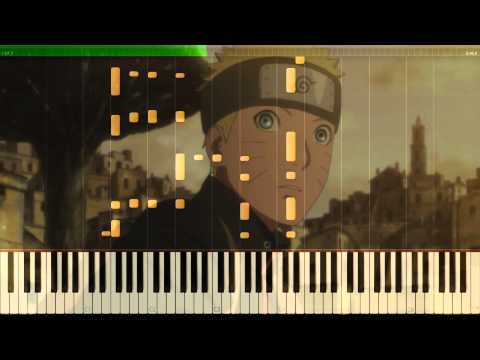 Hoshi no Utsuwa (星のうつわ) Piano Cover - The Last Naruto the Movie Official Theme スキマスイッチ