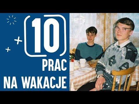 10 PRAC NA WAKACJE